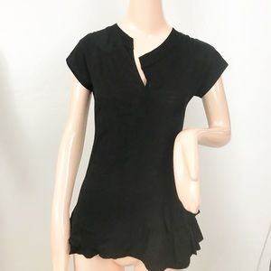 marc by marc jacobs Wool Blend Ruffle Top